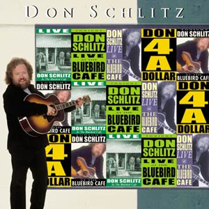 DON SCHLITZ - LIVE AT THE BLUEBIRD CAFÉ